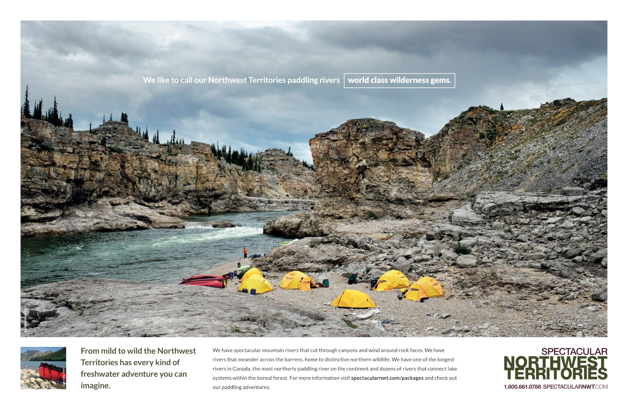 NWT Tourism -GlobeAndMail-FullPg.March2015